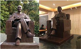 政大圖書館蔣中正銅像搬了 安置華興育幼院 (圖/翻攝自政大官網)