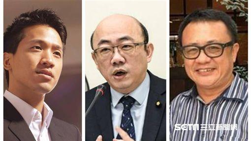 左至右何志偉臉書、記者林敬旻攝、賴坤成臉書