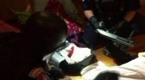 台北,刑大,霰彈槍,槍擊,槍砲彈藥刀械管制條例,毒品危害防制條例。翻攝畫面