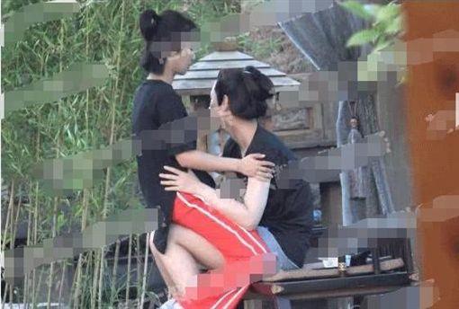 楊紫、秦俊傑。圖/翻攝自鳳凰網娛樂微博