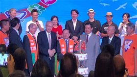 前總統馬英九、國民黨主席吳敦義,受邀出席「肝病防治基金會24周年」活動。(圖/取自肝病防治學術基金會)
