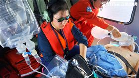 空勤總隊,NA-709,蘭嶼,溺水,CPR,