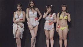 女郎,台灣,TRE,PTT,臉書,豬肉,女優,AV,修圖 圖/翻攝自YouTube