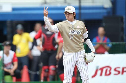 日本投手山野由岐子。(圖/翻攝自WBSC官網)