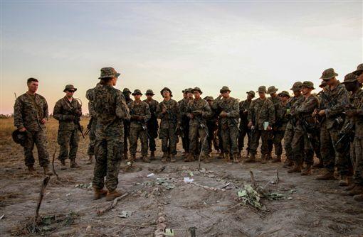 年僅24歲!美軍海陸史上首位女排長美軍,海軍陸戰隊,步兵排,女性,歷史翻攝自推特
