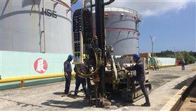 中油漏油監測井檢驗出爐