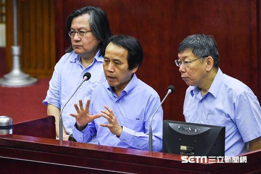 台北市副市長林欽榮。 (圖/記者林敬旻攝)