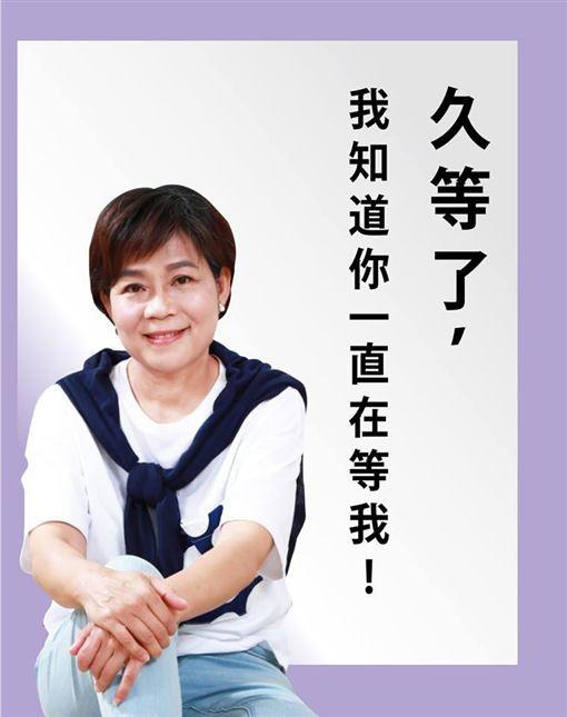 宣布退黨的國民黨前立委楊麗環。(圖/翻攝臉書)