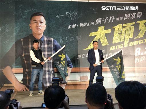 甄子丹/記者楊凱婷拍攝