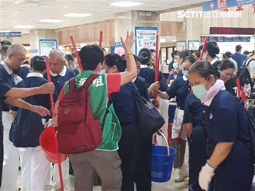 衛生福利部,台北醫院,安寧病房,火警,慈濟,慈濟志工,慈濟基金會