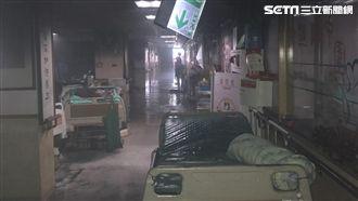 台北醫院大火達13死 1人出院
