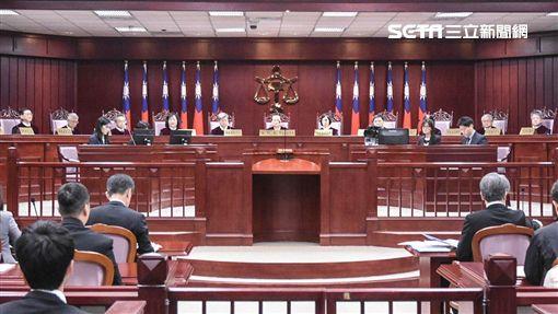 同婚釋憲辯論庭,憲法法庭 圖/記者林敬旻攝