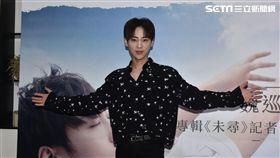 魏巡待新專輯來台宣傳。(圖/KK FRAM、天娛傳媒提供)