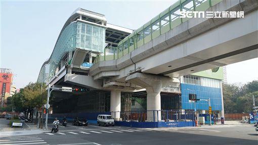 台中捷運綠線。(圖/記者蔡佩蓉攝影)