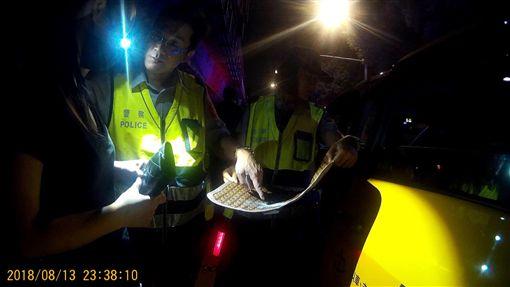 台北,保大,計程車,K他命,劉喬安,毒品危害防制條例。翻攝畫面