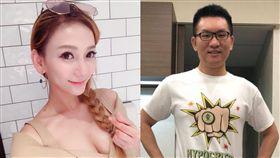 劉喬安,童仲彥 合成圖翻攝自臉書