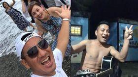 原住民歌手民雄開直播,破萬穿丁字褲。(翻攝臉書)