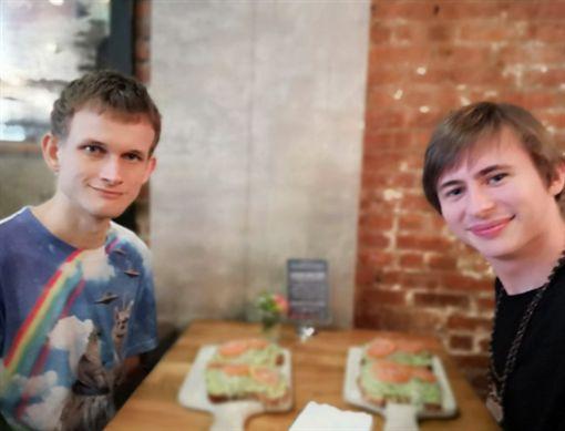 Vitalik Buterin,以太坊,Ethereum,比特幣,以太幣(圖/翻攝自推特)