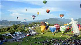 天公作美 台東熱氣球破紀錄45天吸引90萬人次