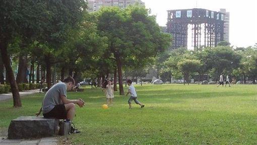 少子化,公園。(圖/記者蔡佩蓉攝影)
