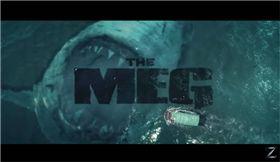 巨齒鯊,The Meg,生物學,科學,傑森史塔森 圖/翻攝自YouTube