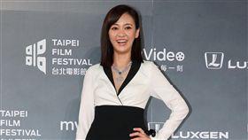 2018台北電影獎星光大道陳意涵。(記者邱榮吉/攝影)