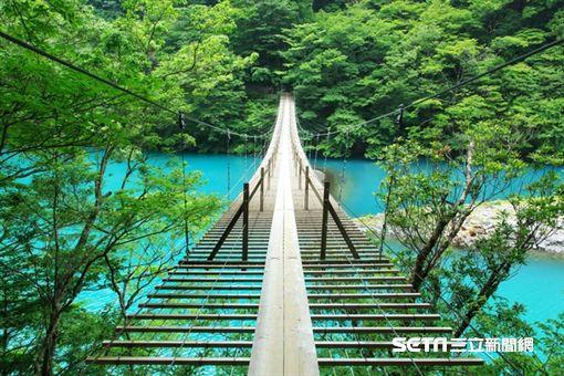 樂天旅遊,吊橋。(圖/樂天旅遊提供)
