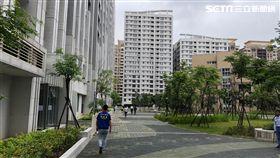 林口社會住宅。(圖/記者蔡佩蓉攝影)
