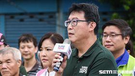姚文智發表百日衝刺宣言 圖/記者林敬旻攝