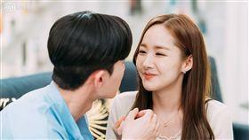 朴敘俊與朴敏英演出的韓劇《金祕書為何那樣》 圖/愛奇藝台灣站提供