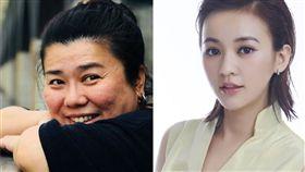 林美秀陳意涵曾在電影《聽說》合作過。(圖/翻攝自微博)