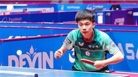 林盷儒第3度贏得ITTF U21男單冠軍。(圖/翻攝自ITTF官網)