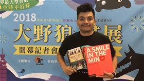 熱血大叔史丹利擔任國際書展一日店長。(圖/BBW大野狼國際書展)