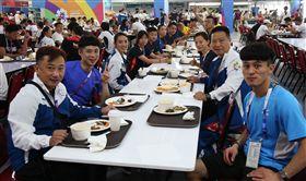 中華代表團進駐選手村。(圖/中華奧會提供)