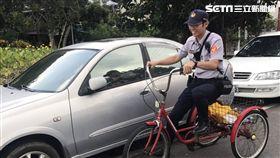 嘉義,警察,三輪車,洋蔥,老翁,