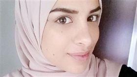 瑞典,穆斯林,宗教,握手,禮貌,歧視,提告,面試,Farah Alhajeh 圖/翻攝自臉書