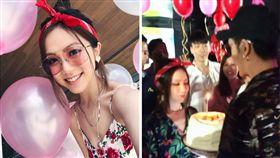 鄧紫棋16日跟緋聞男友Mark Ngai歡度27歲生日。(翻攝IG)
