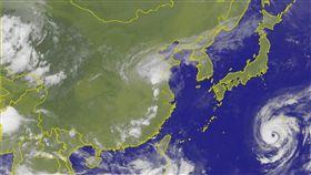翻攝中央氣象局 颱風 蘇力