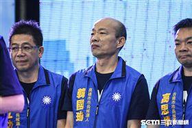 國民黨高雄市參選人韓國瑜出席國民黨全代會。 (圖/記者林敬旻攝)
