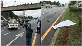 泰國,車禍,騎士,時速,曼谷,重機(圖/翻攝自Sakchai Chouywan臉書)
