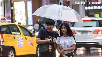 西南風影響 未來一週迎風面天氣不穩