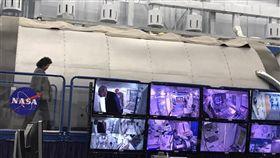 陳菊陪同蔡英文參訪美國太空總署(NASA) 圖/翻攝自陳菊臉書