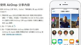 AirDrop,蘋果,iOS,Mac,Apple,照片