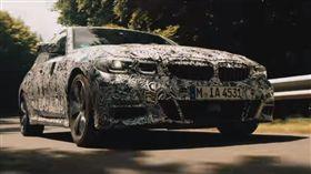 [影音] 全新大改款BMW 3 Series於紐柏林賽道測試的英姿 圖翻攝自youtube