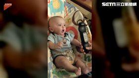 寶寶對搖控器為之瘋狂