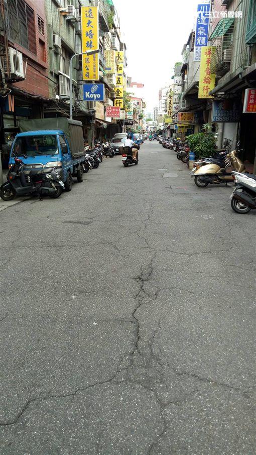 越野馬路第三名 北市興城街 戴錫欽辦公時提供