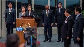 蔡英文總統結束同慶之旅返抵國門。(圖/翻攝臉書)