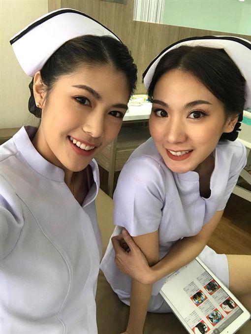 泰國清邁象,清邁,醫院,古城,Ram hospital,護理師,護士圖/翻攝臉書