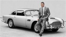 007復刻版Aston Martin DB5。(圖/翻攝autocar uk網站)