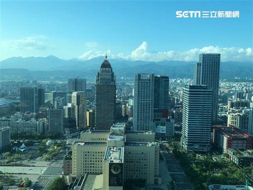 台北101鳥瞰。(圖/記者蔡佩蓉攝影) ID-1506908